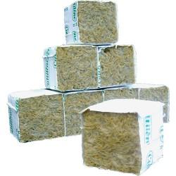 taco esqueje lana de roca 5x5x5cm (500u.)
